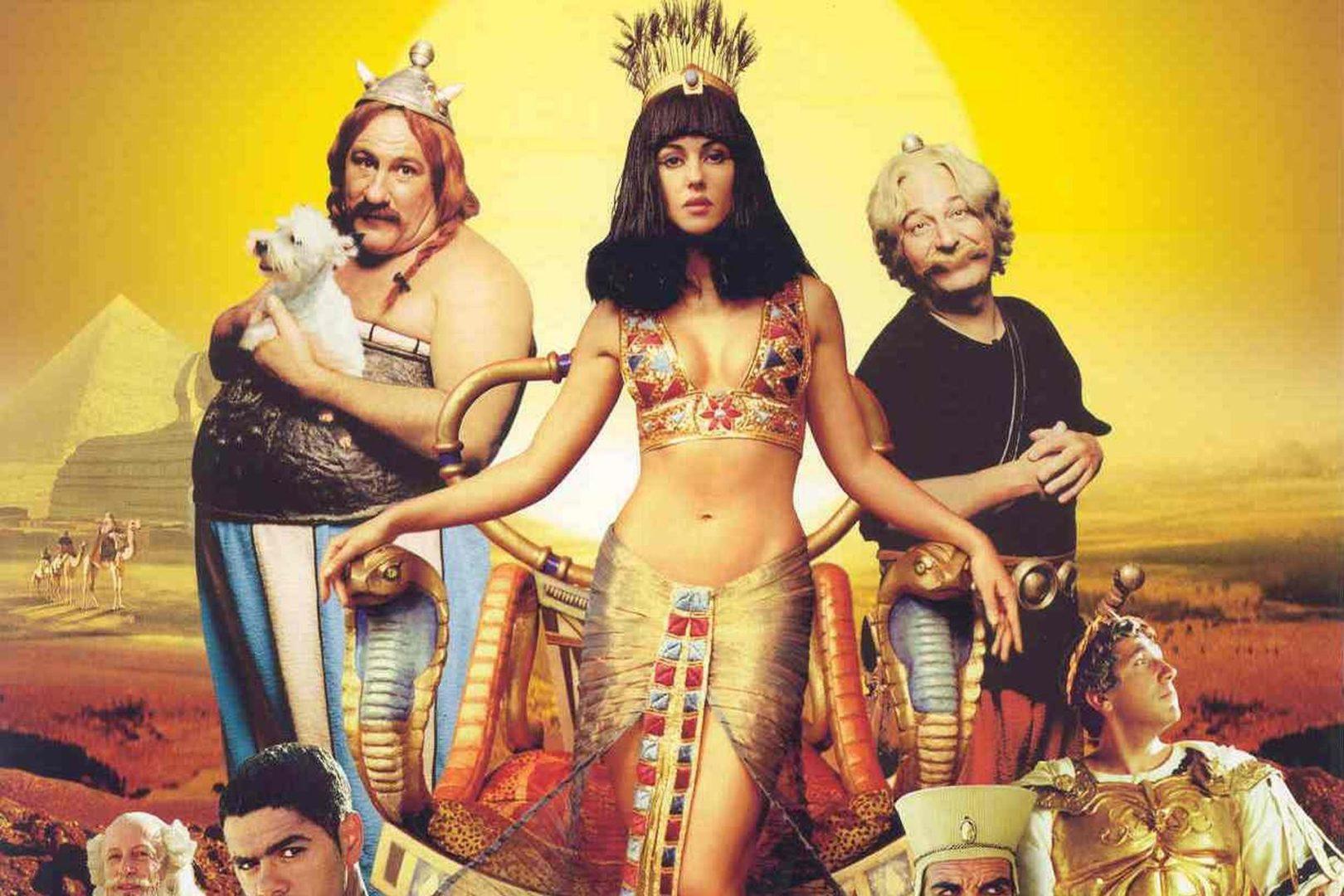 Клеопатра фото из фильма астерикс и обеликс